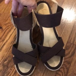 Women's Sam & Libby wedges size 7.5